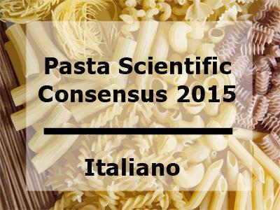 2015 Pasta Consensus Statement in Italian