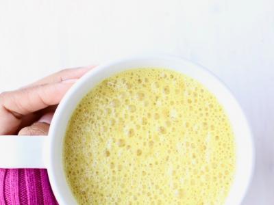 Golden Milk Latte, courtesy of Marisa Moore