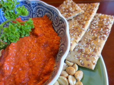 Aleppo-style Red Pepper Peanut Dip