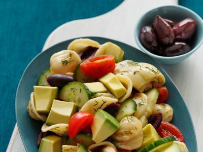 Avocado Mediterranean Pasta Salad