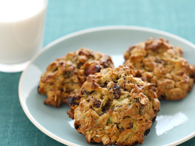 Avocado Oatmeal Raisin Cookies