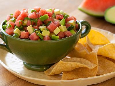 Avocado Watermelon Salsa