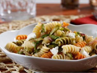 Pasta Salad with Roasted Asparagus