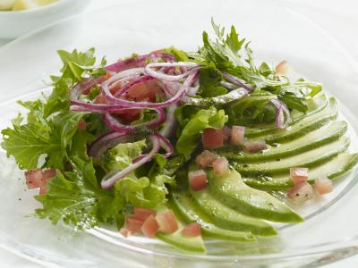 Avocado Carpaccio Salad
