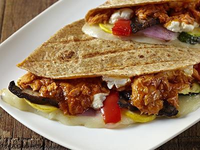 Seafood taco