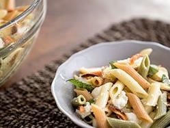 Penne Carrot Parsnip Pasta