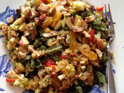 Chicken Apricot Salad