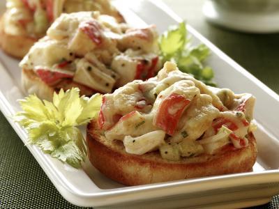 Crab Bruschetta Trident
