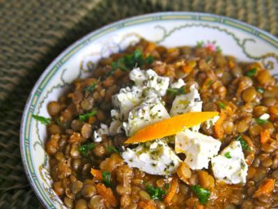Cretan Lentil Soup