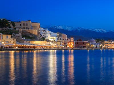 Crete harbor