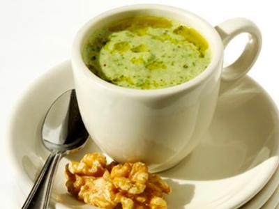 Cucumber Walnut Gazpacho