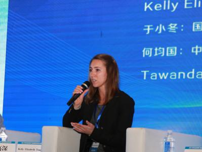 Kelly Toups in China