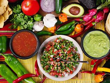 Latin and African Diets