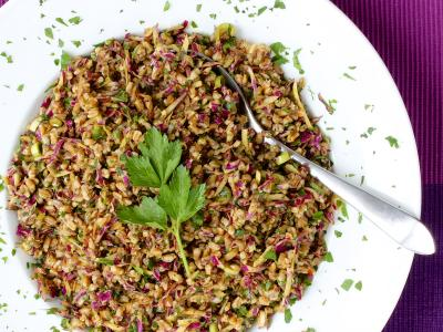Farro Cabbage Salad