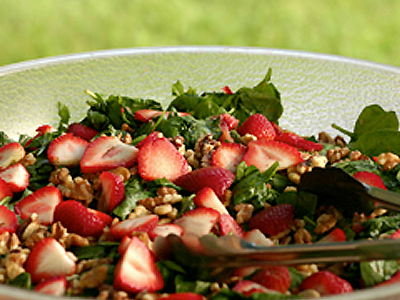 Farro Strawberry Feta Salad