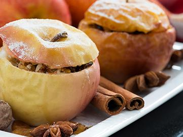 Baked Apples for Healthy Holidays