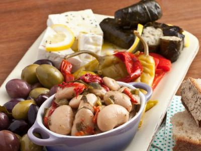 Greek Meze Platter