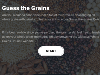 guess the grains quiz