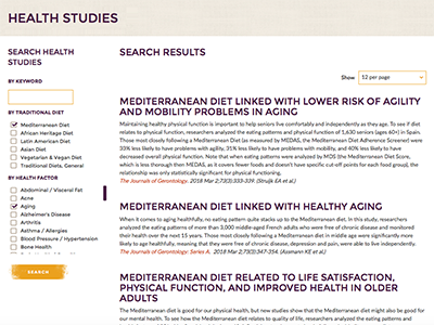 Visit our Health Studies page