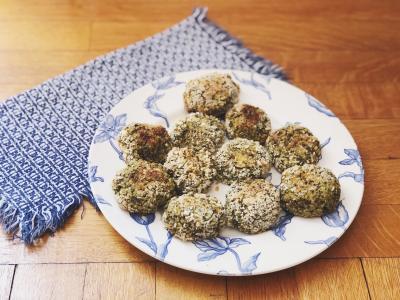 Herbed Quinoa Cakes