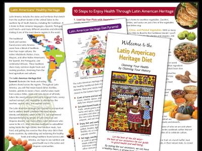 Latin American Heritage Diet Brochure