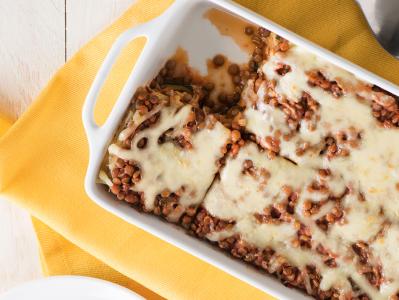 Lentil Lasagna