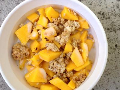 Mango Papaya Afterchop