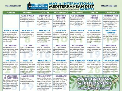 Med Month Challenge Calendar