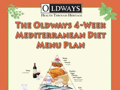 Mediterranean Diet Menu Plan Book
