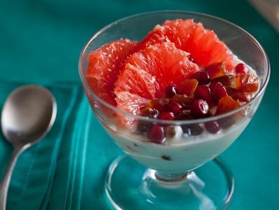 Greek Yogurt with Citrus and Dates