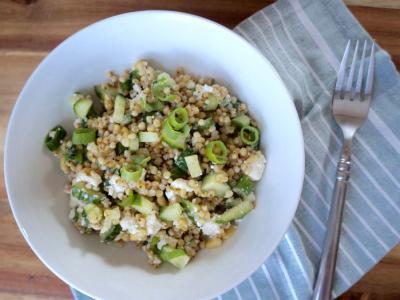 Milo (sorghum) salad