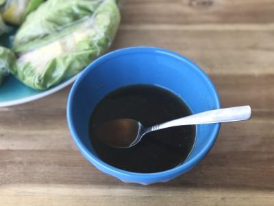 bowl of sauce