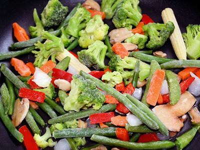Medley of Frozen Vegetables