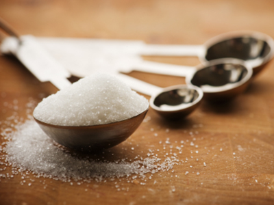 Sugar in tablespoon measure