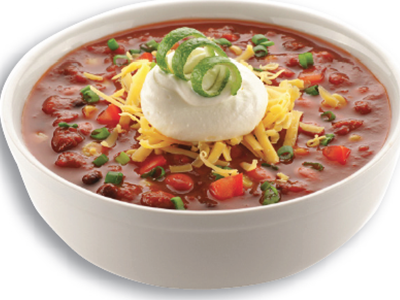 Beans in bowl - chili