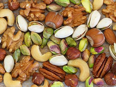 Array of nuts