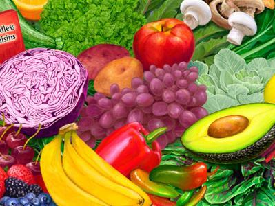 Oldways Vegetarian Vegan Diet Pyramid partial