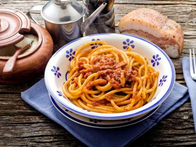 Pasta with Guanciale