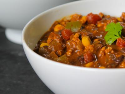 Peanut Turkey Chili