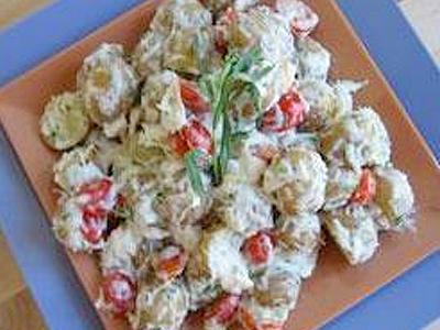 Potato Crab Salad