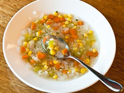 Quinoa Corn Soup