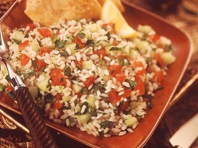 Rice Tabbouleh