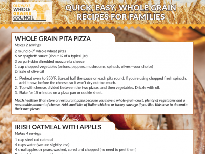 easy whole grain recipes