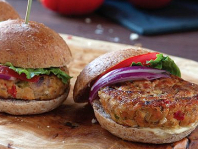 Seaside Salmon Sliders