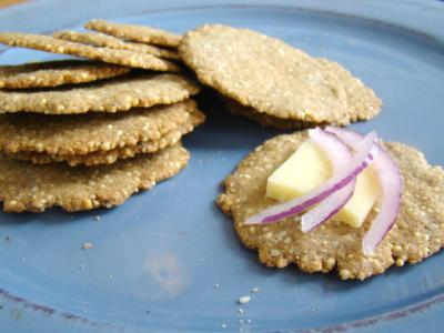 Sesame-Millet Crackers