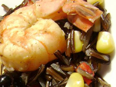 Shrimp Wild Rice Salad
