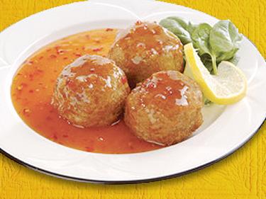 Spicy Chicken Sesame Balls