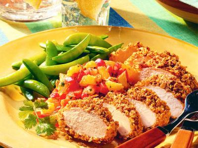 Spicy Oat Crusted Chicken