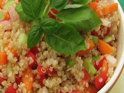 Tangy Quinoa Salad
