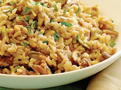 Toasted Pecan Brown Rice Pilaf